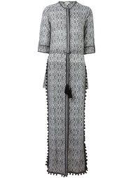 длинное платье с разрезами по бокам Talitha