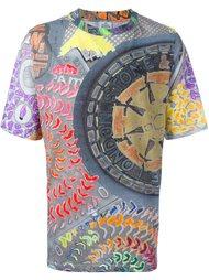 футболка с принтом следов шин Vivienne Westwood Man