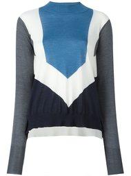 свитер с отворотной горловиной Stella McCartney