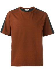 двухцветная футболка Marni