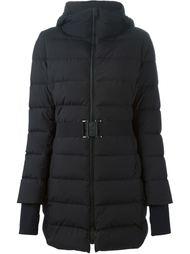 стеганая куртка с поясом Herno