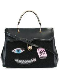 сумка-тоут с нашивками Olympia Le-Tan