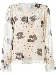блузка с цветочным принтом See By Chloé