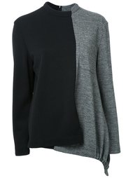 свитер с панельным дизайном Fad Three