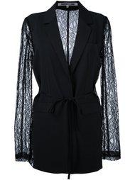 пиджак с кружевными рукавами McQ Alexander McQueen