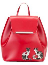 рюкзак с аппликацией в виде кошек Nº21