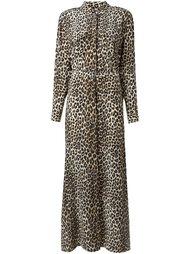 платье с леопардовым принтом   Equipment