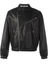 кожаная куртка с классическим воротником McQ Alexander McQueen