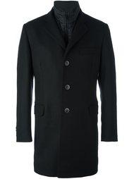 многослойное пальто  Fay