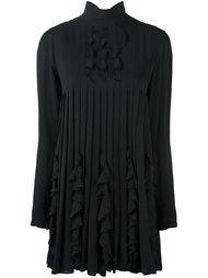 плиссированное платье с рюшами Dsquared2