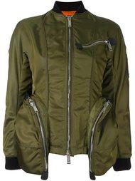 куртка-бомбер с карманами на молнии Dsquared2