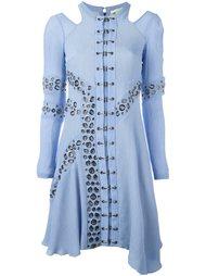 платье с люверсами Antonio Berardi