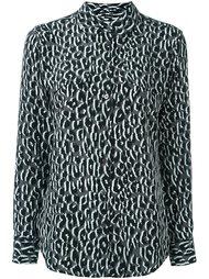 блузка с леопардовым принтом   Equipment
