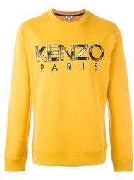 толстовка с логотипом Kenzo
