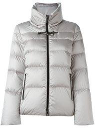 стеганая куртка с воротником-воронкой Fay