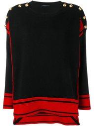 свитер свободного кроя Alexander McQueen