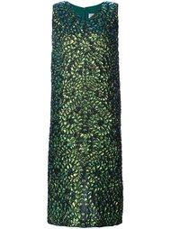 платье с выпуклым цветочным узором Maison Margiela