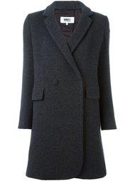 двубортное пальто Mm6 Maison Margiela