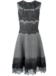 платье с кружевными панелями Ermanno Scervino