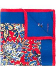 карманный платок с цветочным принтом Kiton