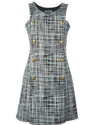 платье с принтом без рукавов  Boutique Moschino