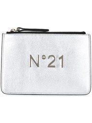 клатч с логотипом Nº21