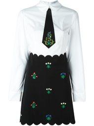 платье 'Perlina' с вышивкой Vivetta