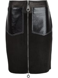 юбка с накладными карманами Edun