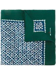 карманный платок с геометрическим принтгом Kiton