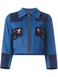 джинсовая куртка на молнии Marc Jacobs