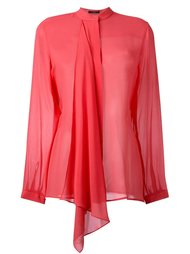 драпированная блузка Etro