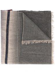 шарф с полосатым принтом Etro