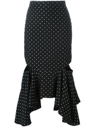 юбка с расклешенным подолом Givenchy