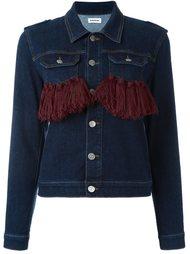 джинсовая куртка с кисточками Au Jour Le Jour