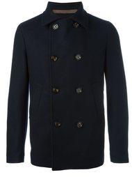 двубортное пальто Eleventy