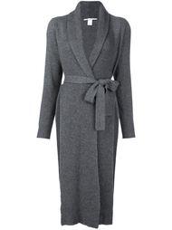 трикотажное пальто в рубчик Rosetta Getty