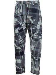 брюки с абстрактным принтом  Vivienne Westwood