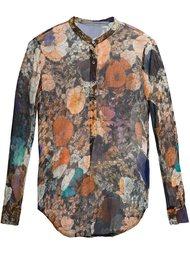 рубашка с цветочным принтом  Raquel Allegra