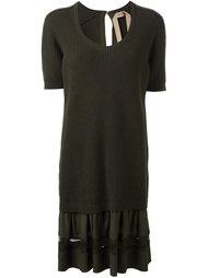 многослойное платье Nº21