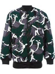 куртка-бомбер с камуфляжным принтом KTZ
