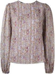 блузка с мелким принтом Giambattista Valli