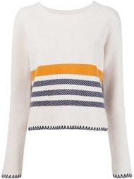 свитер в полоску Chloé