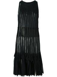 трикотажное платье с бахромой Missoni