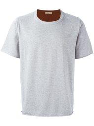 многослойная футболка Marni