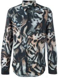 рубашка с принтом тигров Ps By Paul Smith