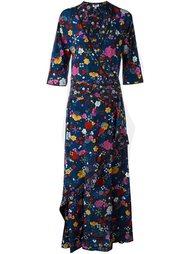 длинное платье 'Tanami' Kenzo