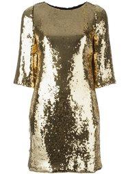 платье с пайетками Marco Bologna