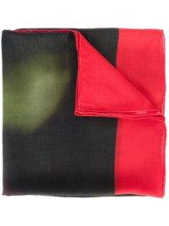 шарф с принтом черепа Givenchy