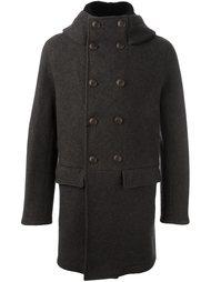 двубортное пальто  Giorgio Armani