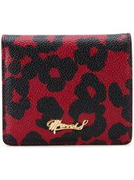 кошелек с леопардовым узором Muveil